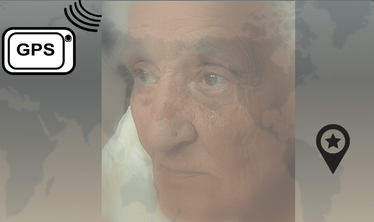 GPS location for people with dementia